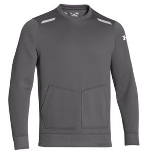 NWT Under Armour ColdGear Infrared Gray Crew Shirt